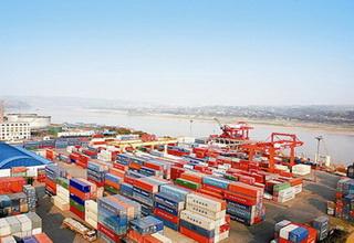 2014年1月四川省港口吞吐量同比增长13%